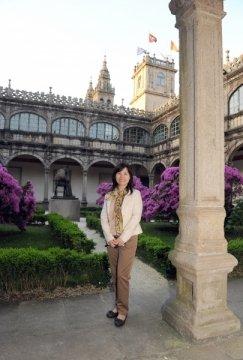 Imaxes visita Catedral. - Xornadas sobre autonomías en España e China: Galicia como exemplo